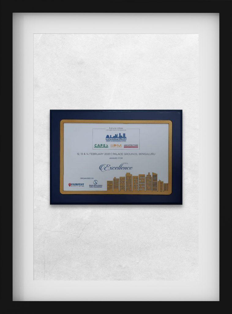 Muncipalika: Award for Excellence