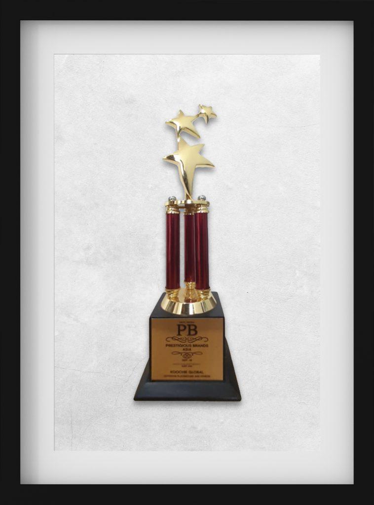 Prestigious Brand of Asia Award