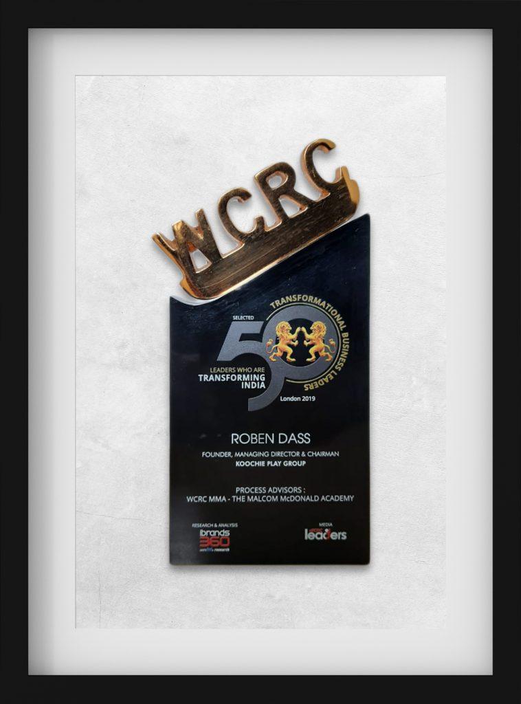 WCRC - Transformational Business Leader Award